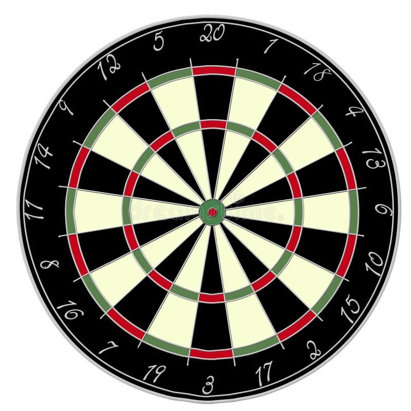 Dartsboard διανυσματική απεικόνιση