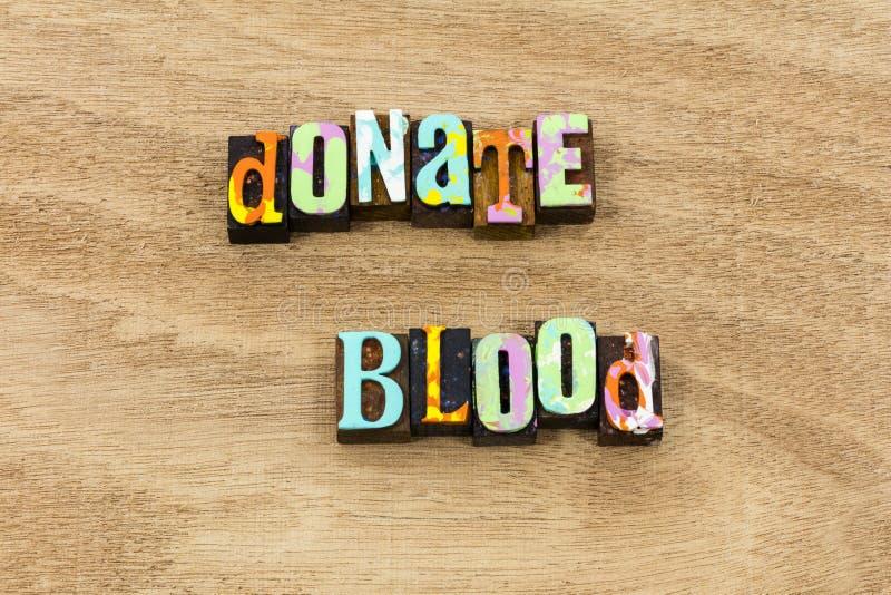 Daruje życia oszczędzania banka krwi zdrowie zdrową dobroć fotografia stock