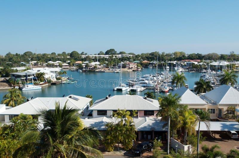 Darwin Harbour fotografie stock libere da diritti