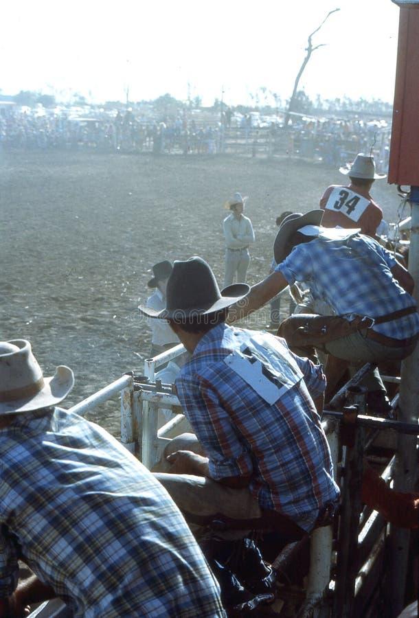 1976 Darwin, N T australia rodeo fotos de archivo