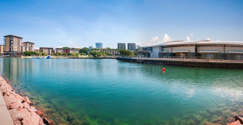 Darwin nabrzeża panorama fotografia royalty free