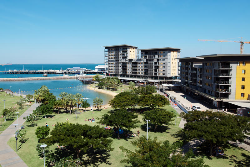 Darwin Waterfront fotografia stock libera da diritti