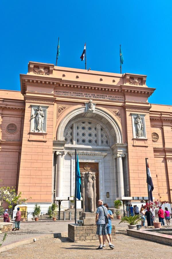 Das ägyptische Museum oder Museum von Kairo stockfotos