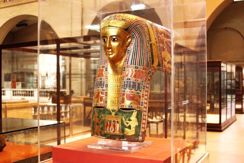 Das ägyptische Museum von innen lizenzfreie stockfotos