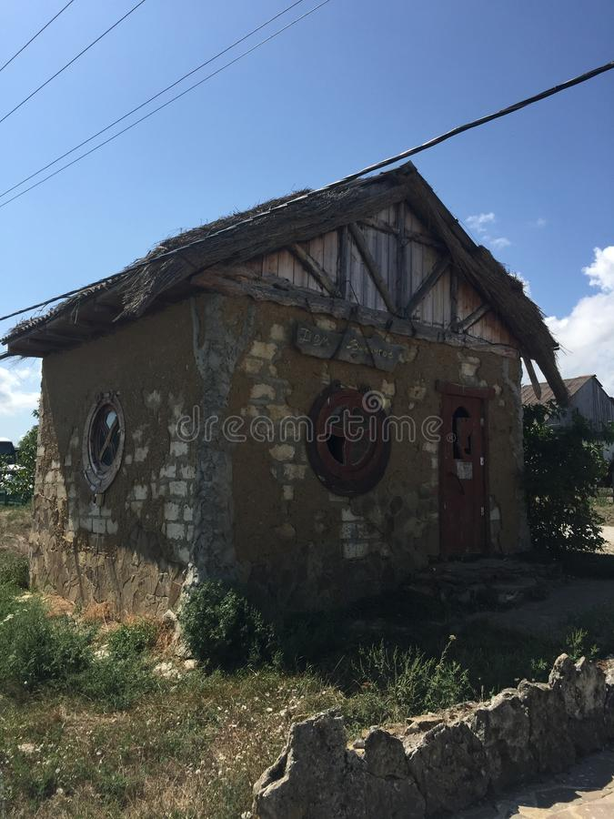 Das älteste Haus im alten Dorf stockfotos