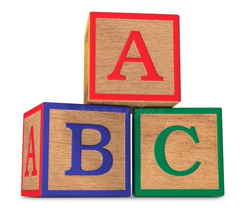 Das ABCs stockfoto