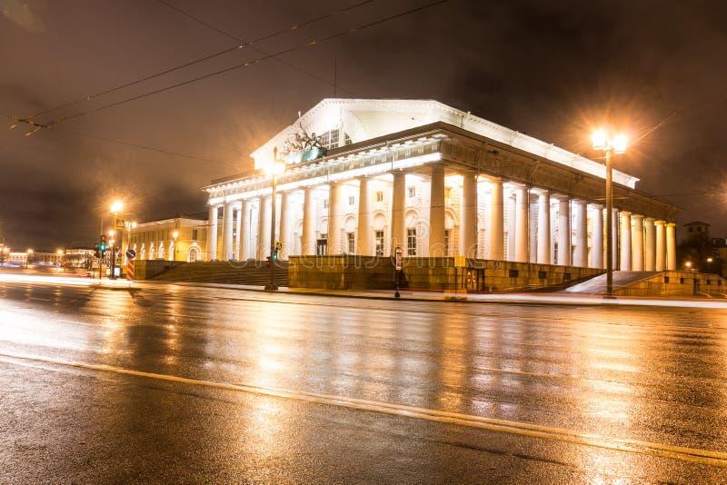 Das akademische Dramatheater von A S Pushkin, Alexandrinsky-Theater, Nevsky-Aussicht, St Petersburg, Russland stockbilder