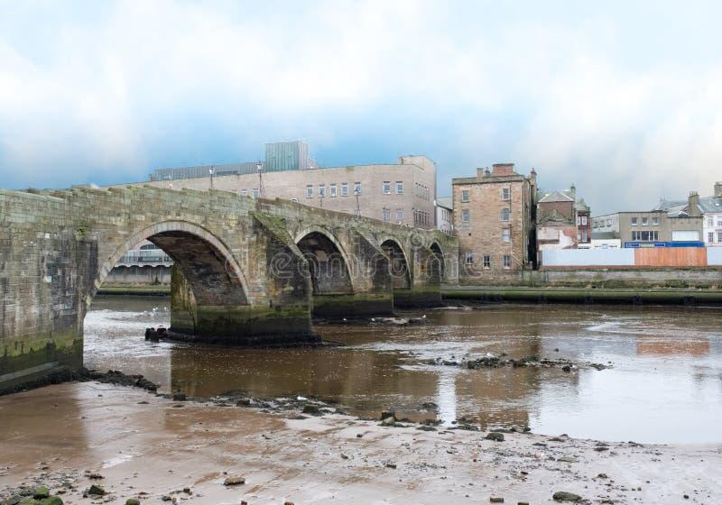 Das alte Brigg Ayr Schottland stockfotos