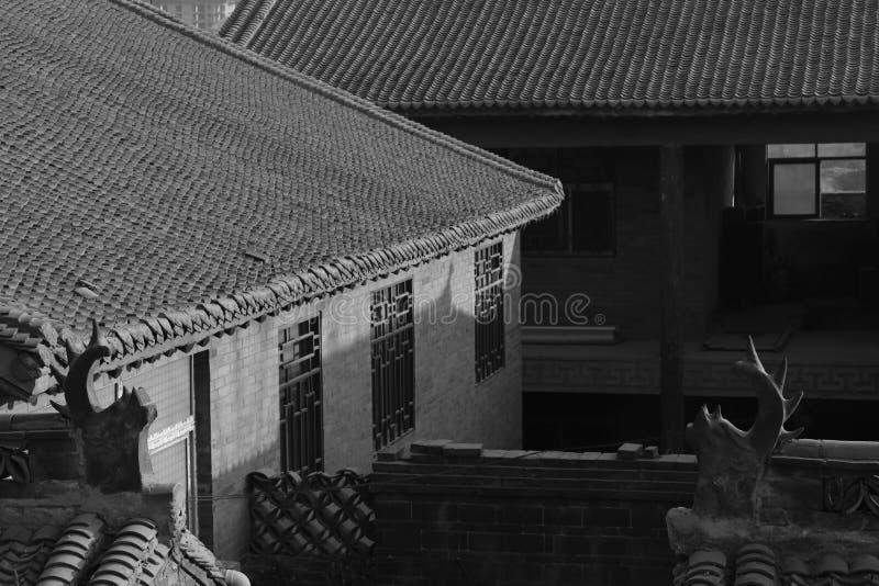 Das alte Gebäude lizenzfreie stockbilder