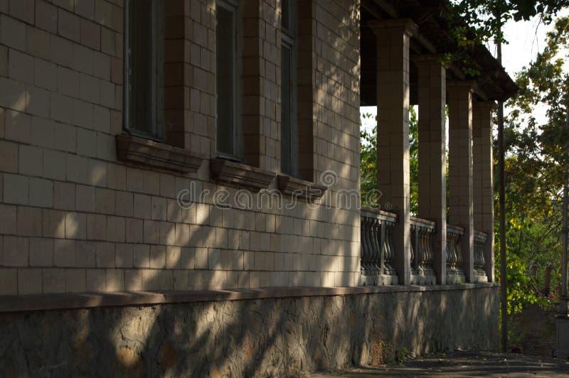 Das alte Haus der Pioniere stockfotografie
