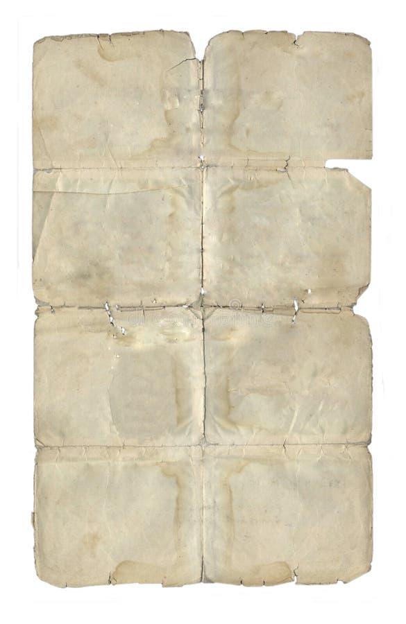 Das alte Papier lizenzfreie stockbilder