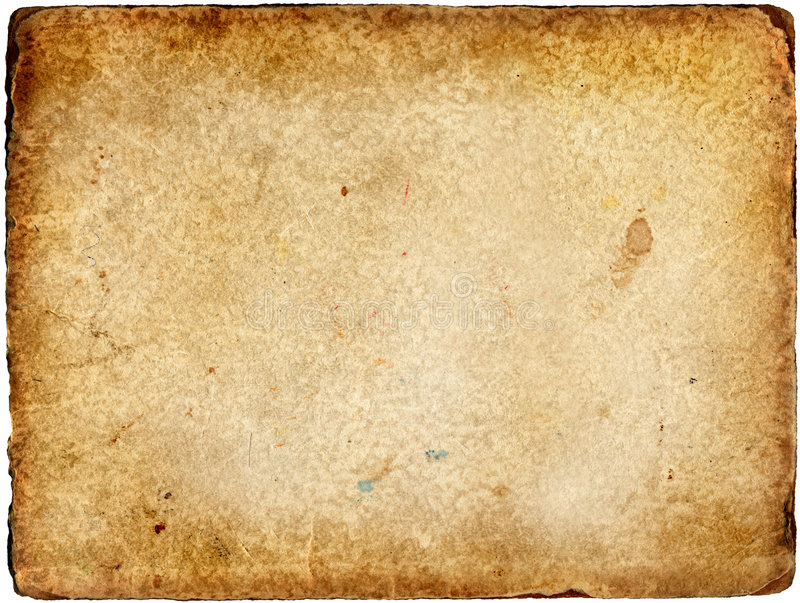 Das alte Papier stockfoto