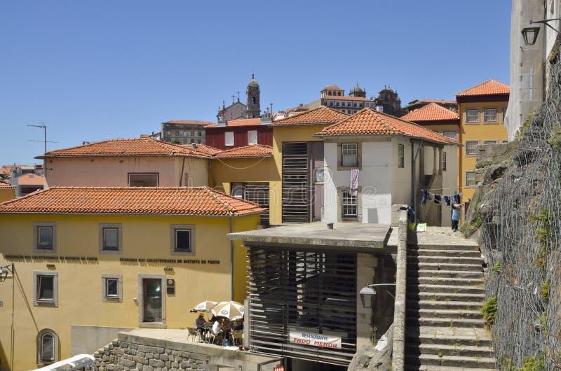 Das alte Porto stockbild
