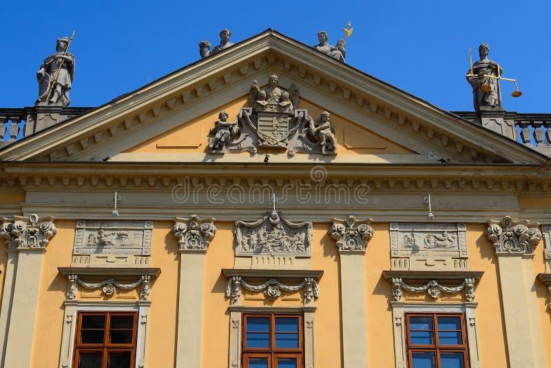 Das alte Rathaus, Kosice, Slowakei lizenzfreie stockfotos