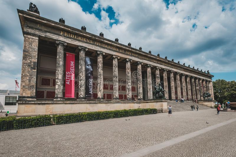 Das Altes-Museum/altes Museum in Museumsinsel in Berlin, Mitte stockbilder