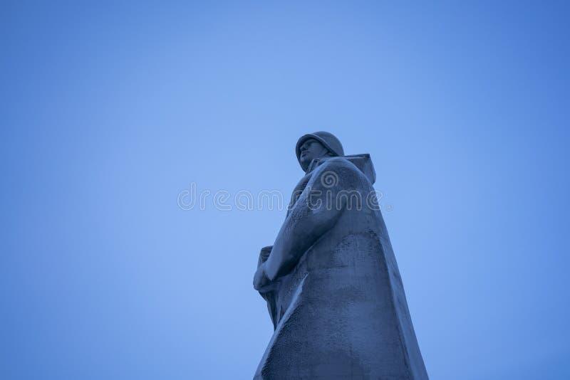 Das Alyosha-Monument stockfotografie