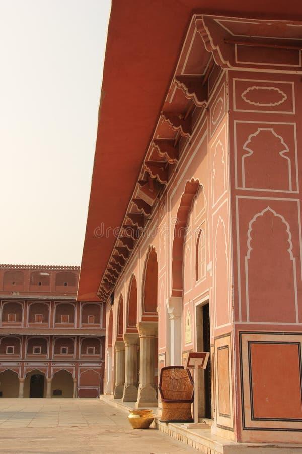 Das Amer-Fort von Jaipur stockfoto