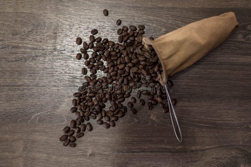 Das Aroma von Kaffeeüberlauf lizenzfreie stockfotografie