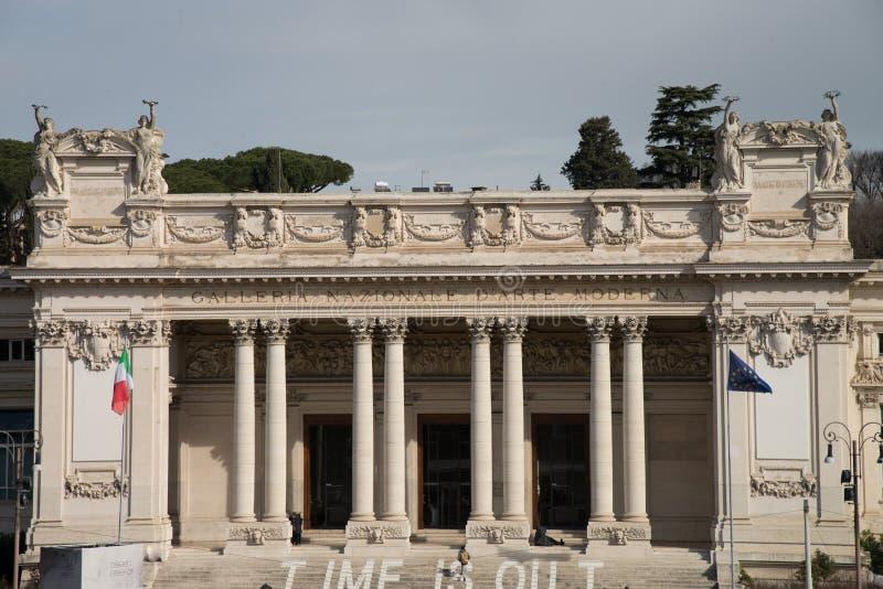 Das ` Arte Moderna, Rom, Italien Galleria Nazionale d stockbild
