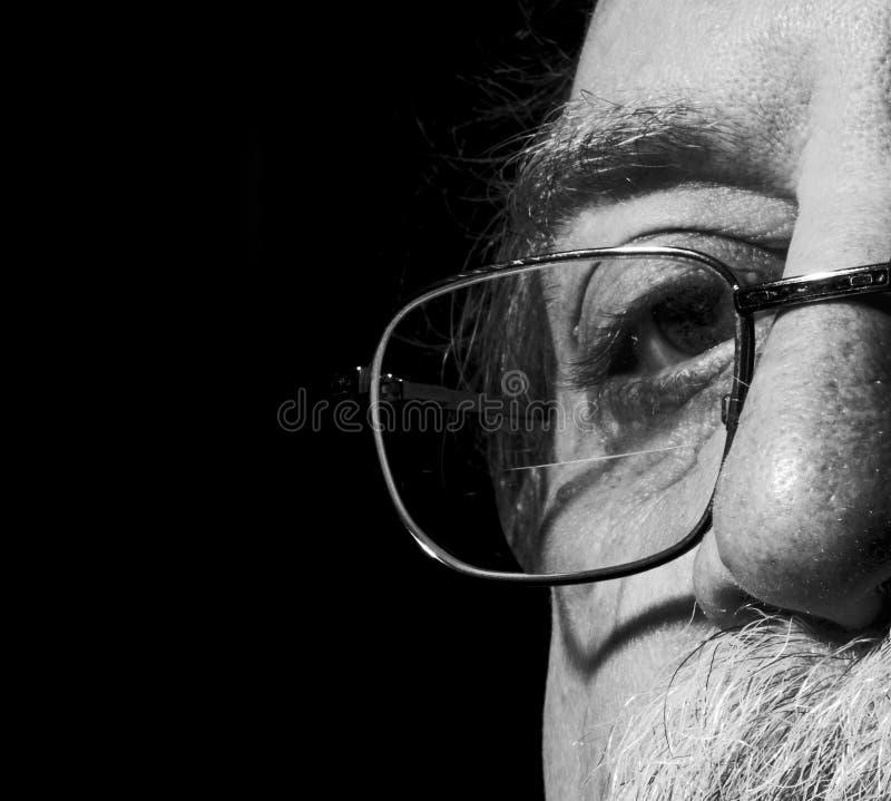 Das Auge der Männer stockfotografie
