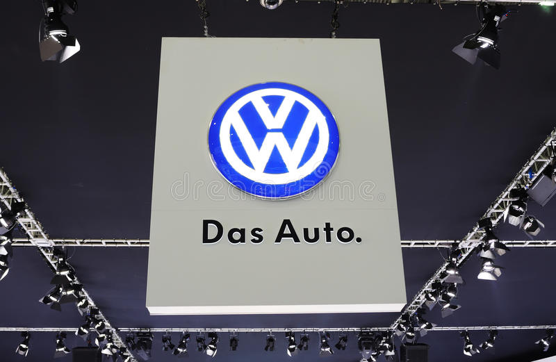 Download Das auto logo editorial stock image. Image of motor, name - 16607864