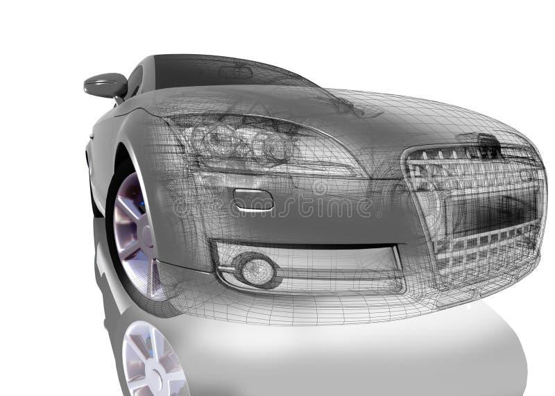 Das Automobil vektor abbildung