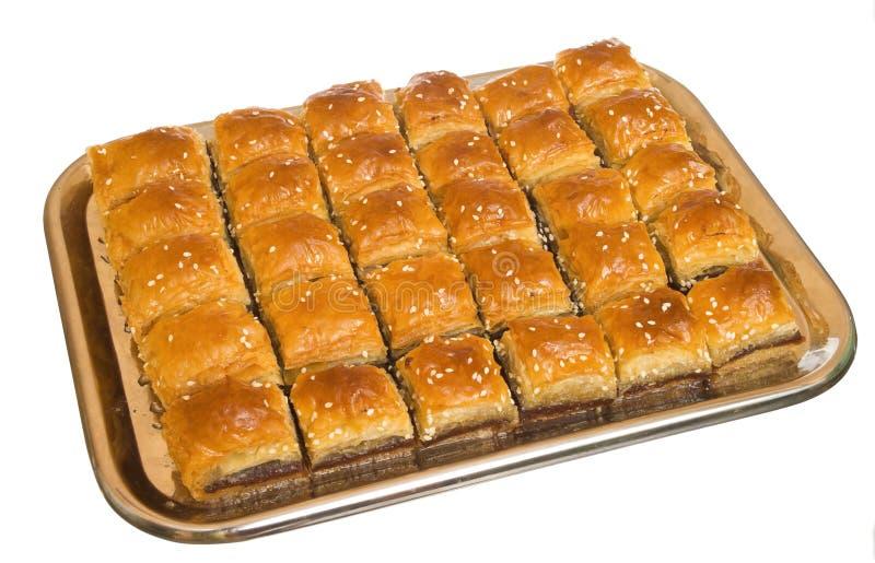 Das Baklava lizenzfreies stockfoto
