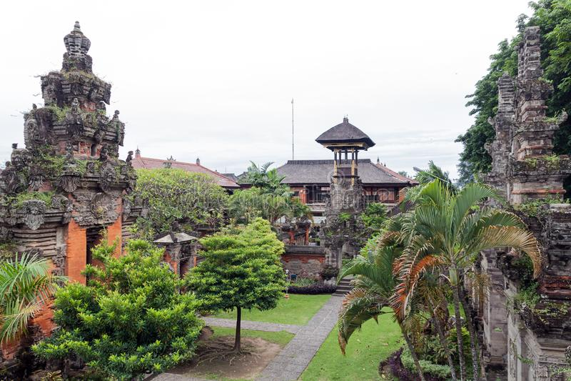 Das Bali-Museum stockbild