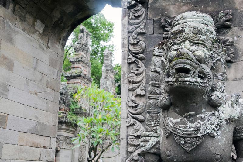 Das Bali-Museum lizenzfreies stockbild