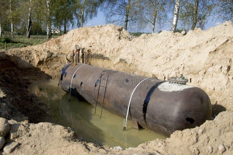 Das Becken für Kraftstoff lizenzfreie stockfotografie