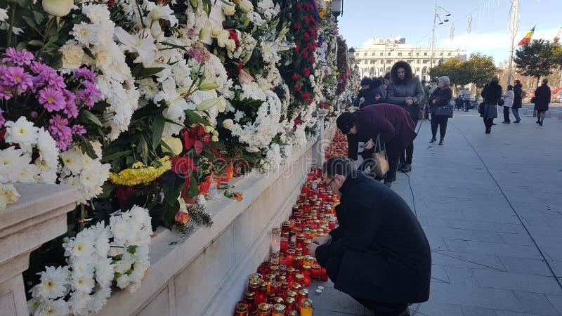 Das Begräbnis von König Michael von Rumänien stockfotos