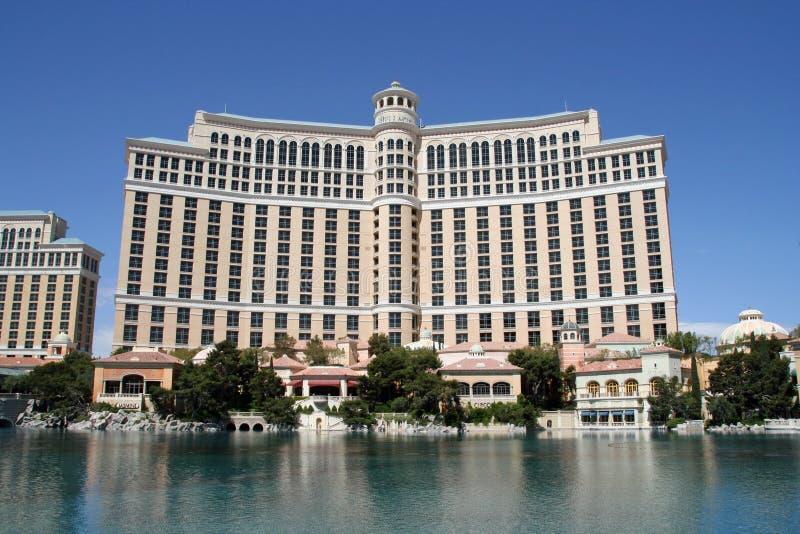 Das Bellagio-Hotel und das Kasino, Las Vegas, Nevada stockbild