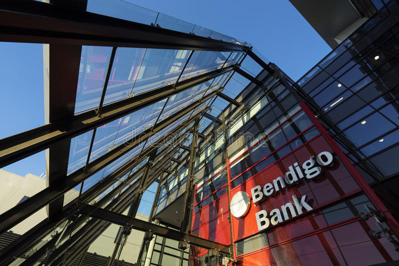 Das Bendigo und Adelaide Bank lizenzfreies stockfoto