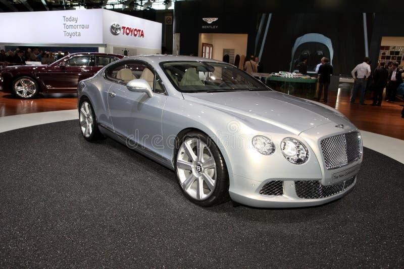 Das Bentley kontinentales GT lizenzfreie stockbilder
