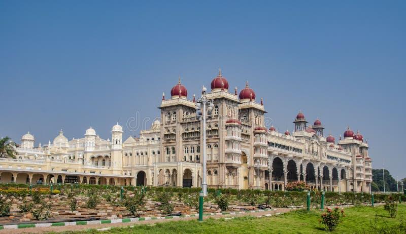 Das ber?hmte Mysore in Mysore in Indien stockbild