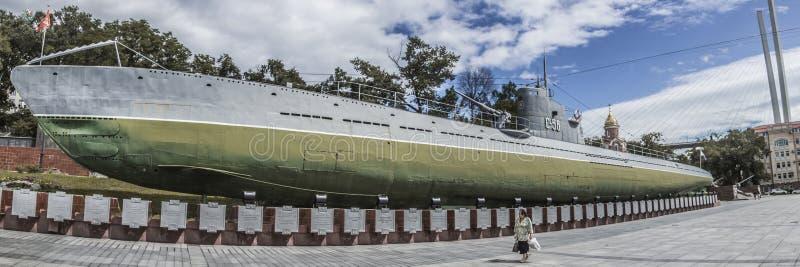 Das berühmte russische Unterseeboot lizenzfreie stockfotografie