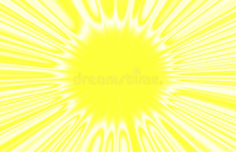 Das Bild der Sonne. lizenzfreie abbildung