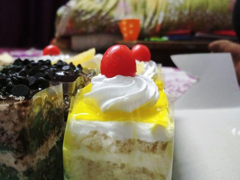 Das Bild des Gebäckkuchens lizenzfreie stockbilder