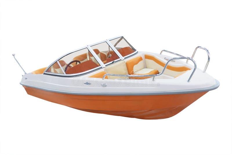 Das Bild eines Motorboots lizenzfreie stockfotos