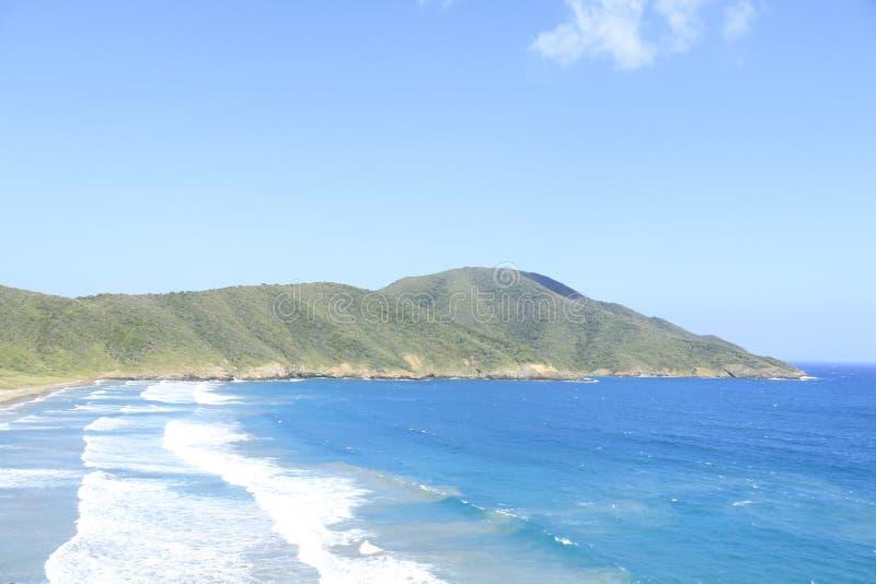 Das Blau des Meeres lizenzfreies stockfoto