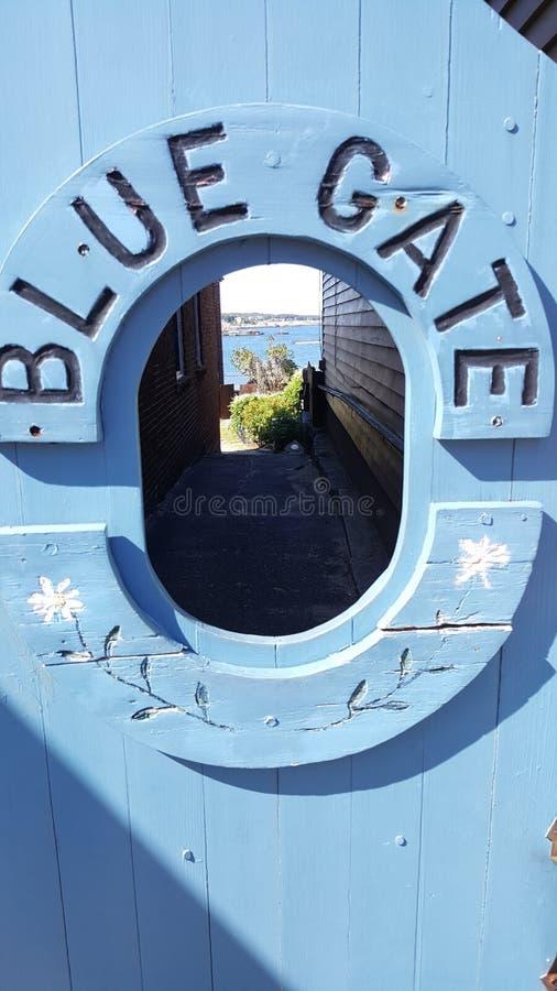 Das BlueGate lizenzfreies stockfoto