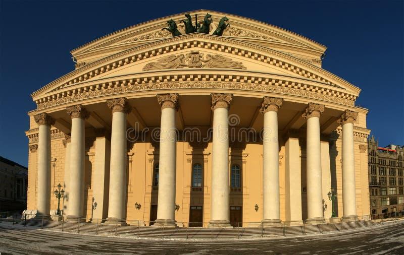 Das Bolshoi Theater, Moskau, Russland lizenzfreies stockbild