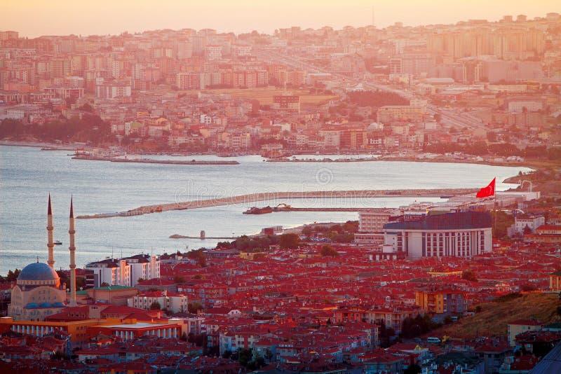 Das Bosporus stockfotografie