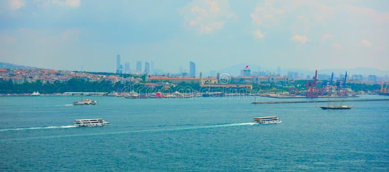 Das Bosporus in Istanbul lizenzfreie stockbilder