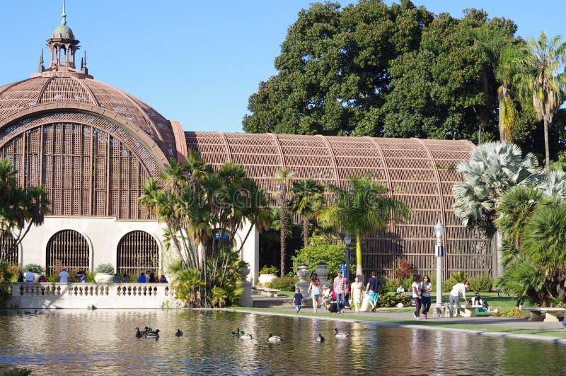 Das botanische Gebäude lizenzfreies stockfoto