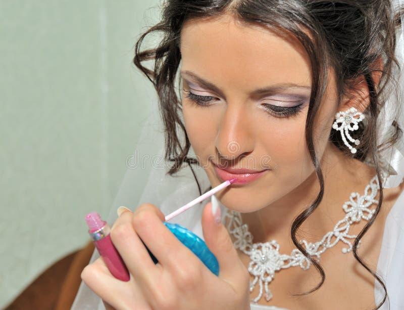 Das Brautbilden lizenzfreies stockbild