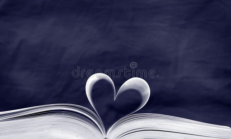 Das Buch des Blaus stockfoto
