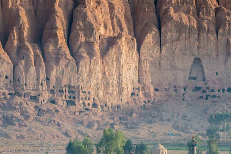 Das Buddhas von Bamiyan lizenzfreies stockbild