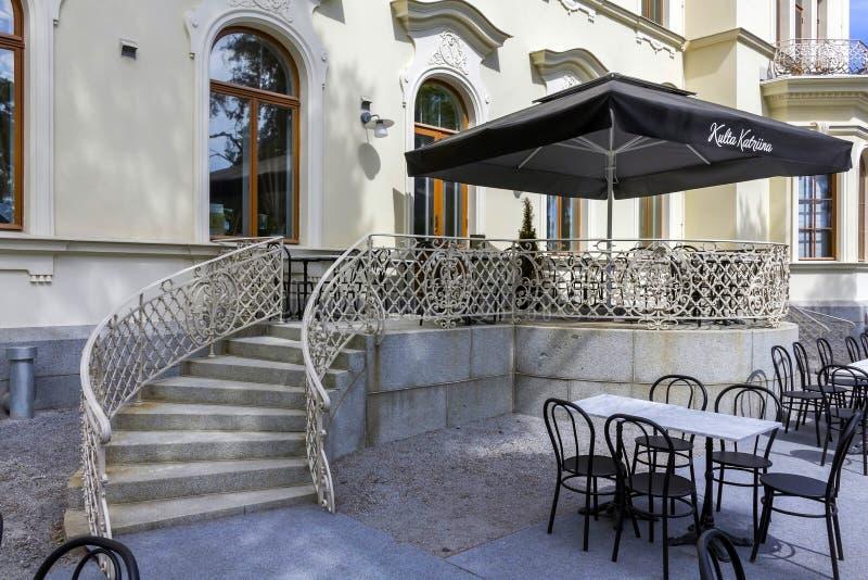 Das Café des Museums stockfoto