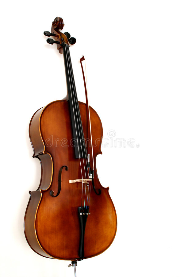 Das Cello lizenzfreie stockfotos